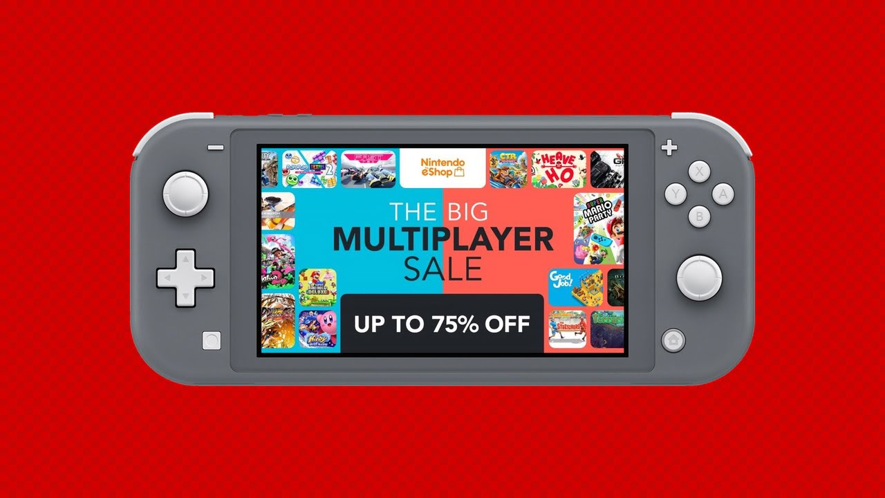 Last chance to save in the Nintendo Switch Multiplayer Sale