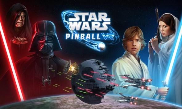 Star Wars Pinball VR - Key Art