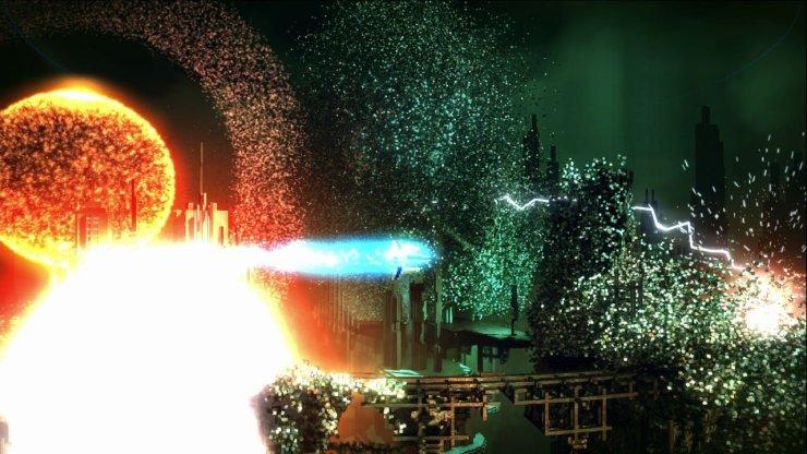 Resogun explosion