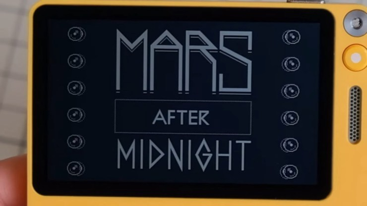 Playdate - Mars after Midnight