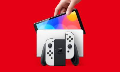 Nintendo Switch OLED Model docked