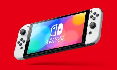 Nintendo Switch OLED Model handheld