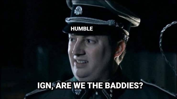 humble bundle are we the baddies