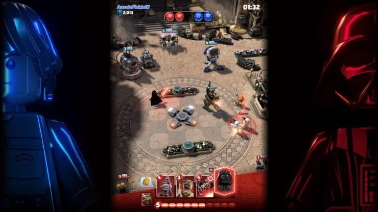 Lego Star Wars Battles Screenshot
