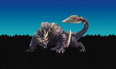 Tetris 99 x Monster Hunter Rise