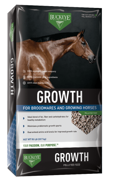 Growth pelleted feed