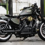Customized Harley Davidson Sportster Motorcycles By Thunderbike