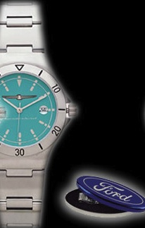 Turq watch with case
