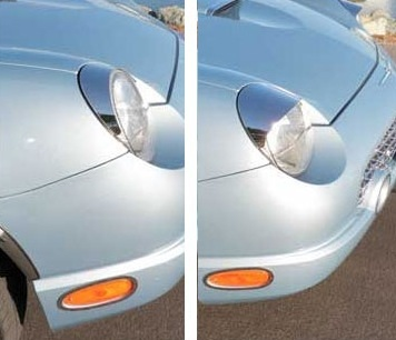 Thunderbird Headlight Visors