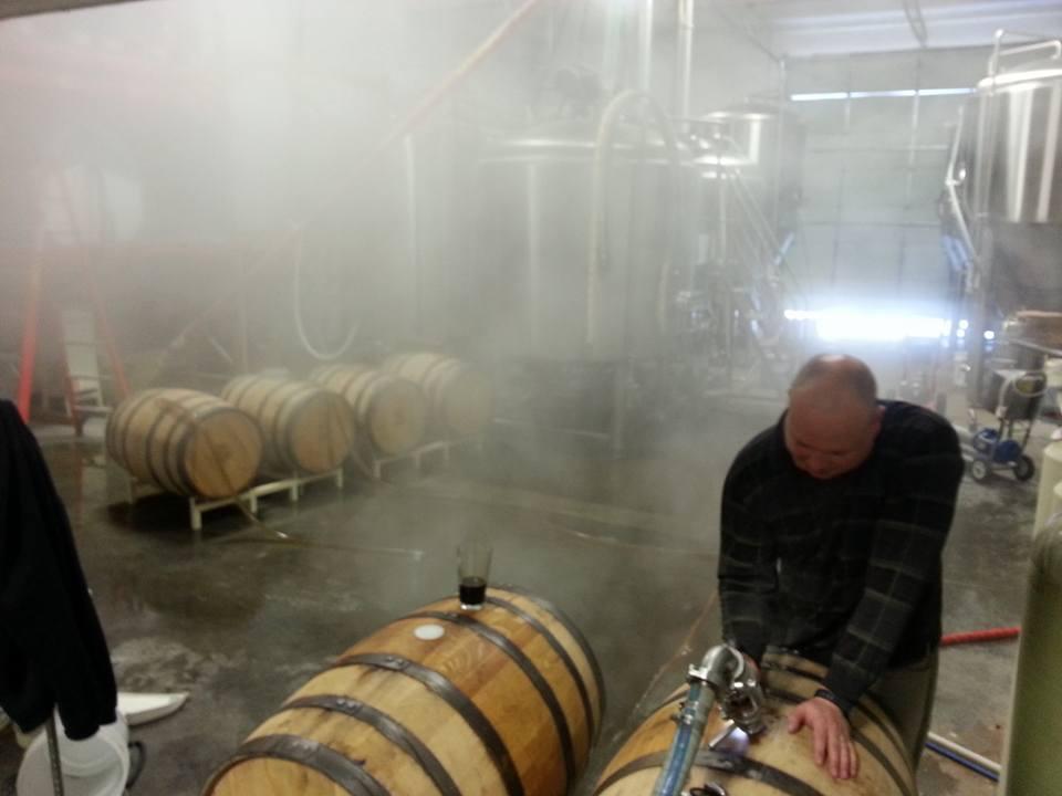 Axtell Brewery Trevor Barrels