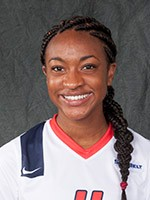 Freshman Charde Hannah earned Offensive Player of the Week honors for the third time this season after her two goals against Georgia Southern. Photo: usajaguars.com