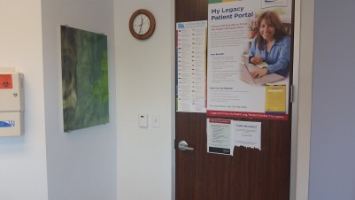 The exam room at Legacy.