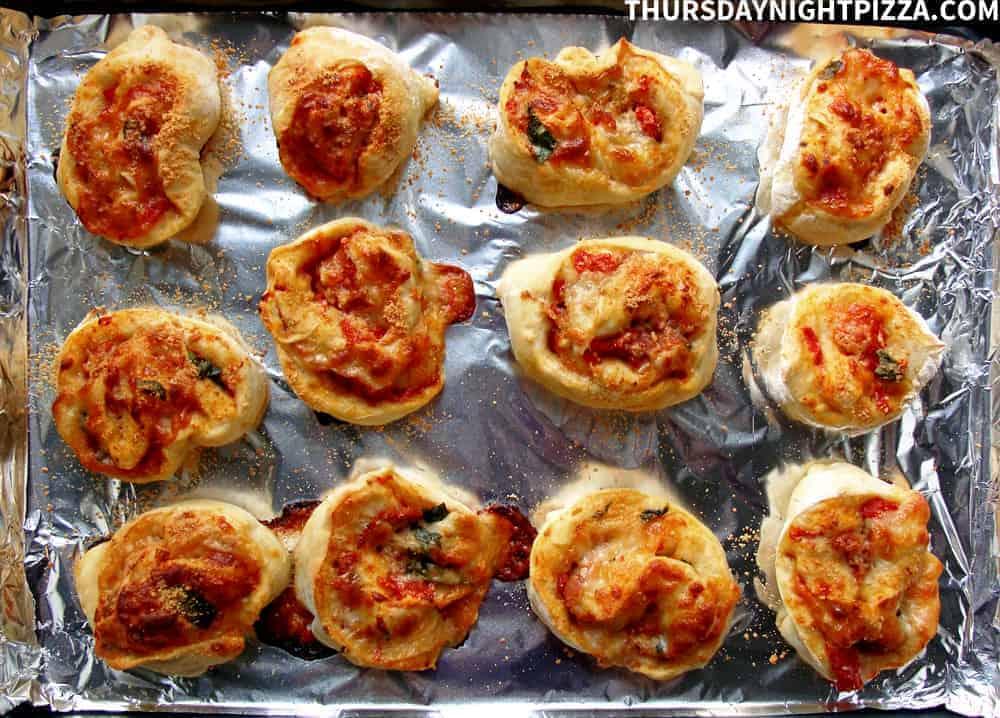 Prosciutto Pizza Rolls