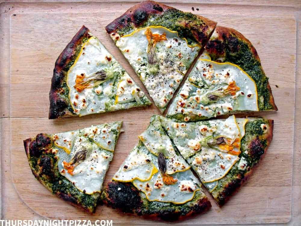 Summer Garden Pizza