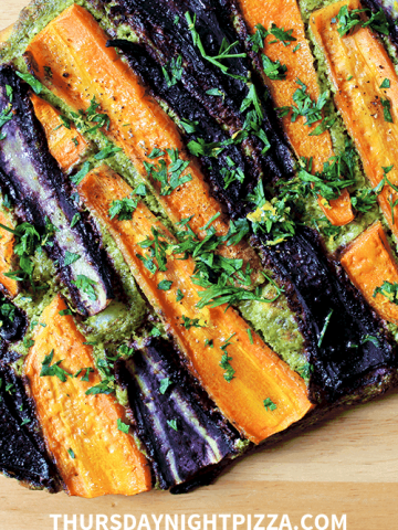 Root to Top Carrot Pizza