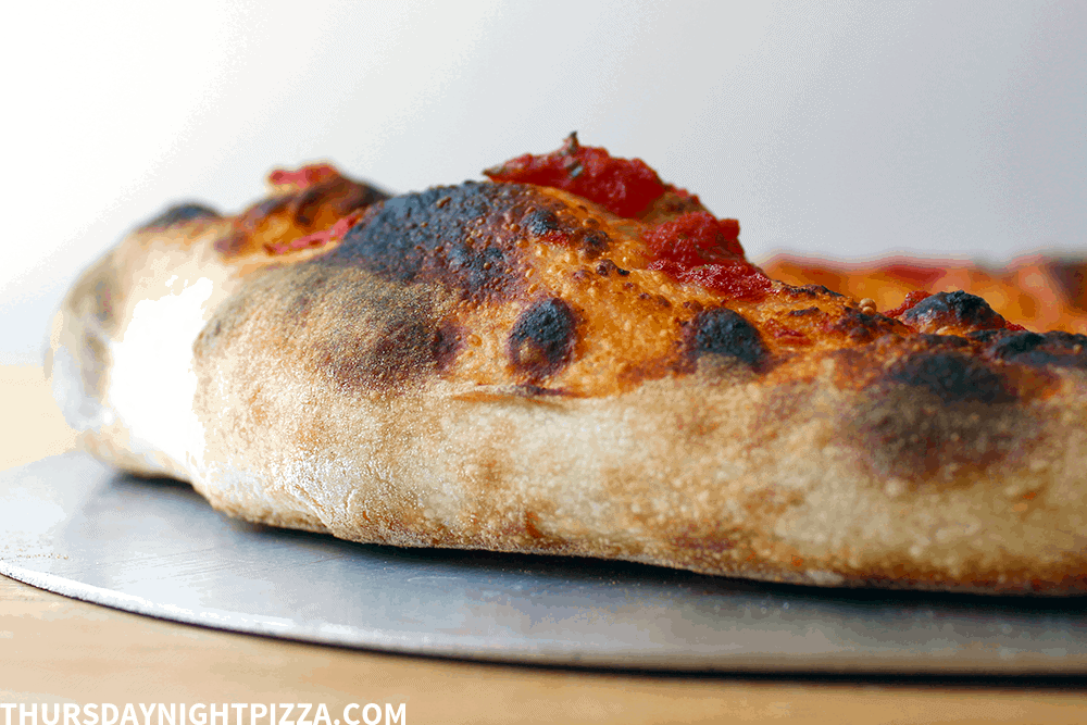 no yeast sourdough pizza crust