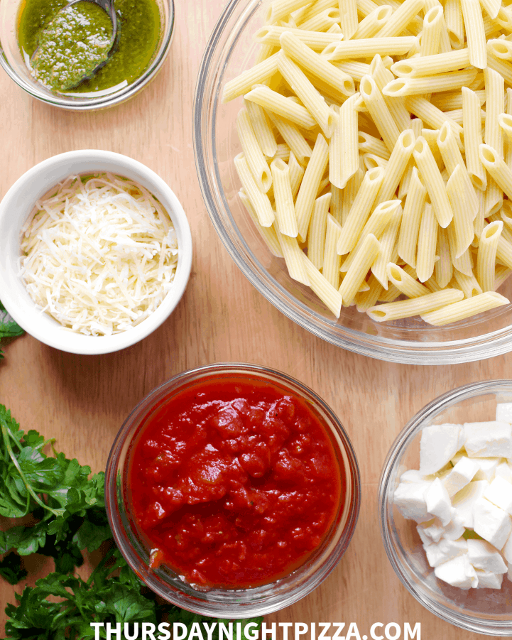 penne pizza ingredients