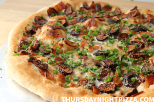 Fig and Bacon Pizza