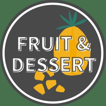 Fruit & Dessert Pizzas