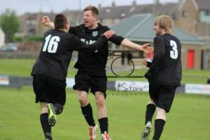 Peaches scores a very late goal to make it 3-3 in the Ness Cup Final