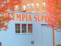 Olympia Supply Fall downtown Olympia
