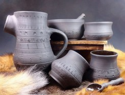 Sherry Kirk Historical Pottery Sidhefire Arts