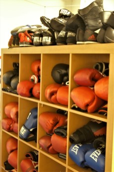 TCPAL Coach Lydell Spry Olympia boxing equipment