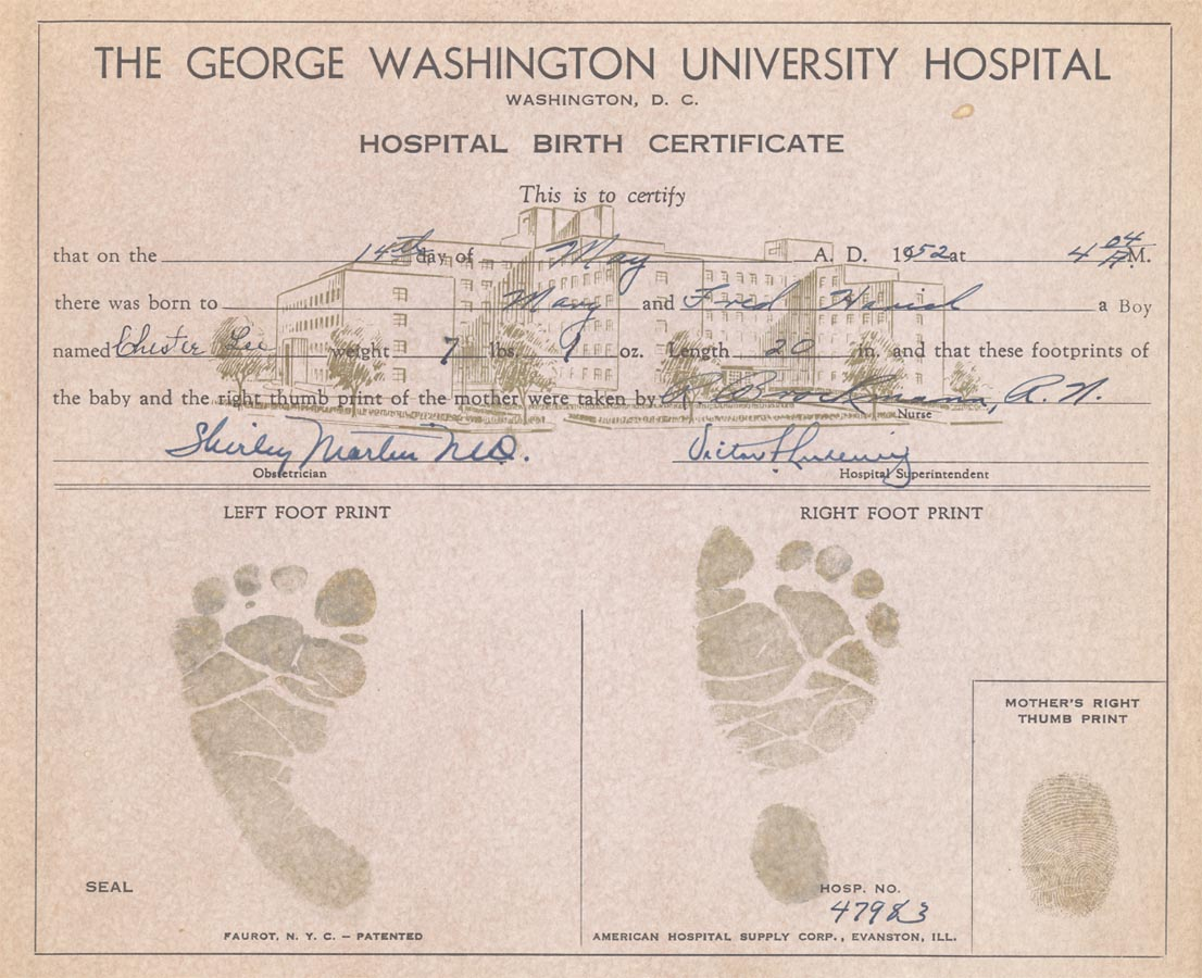 Us Fill In The Blank Birth Certificate