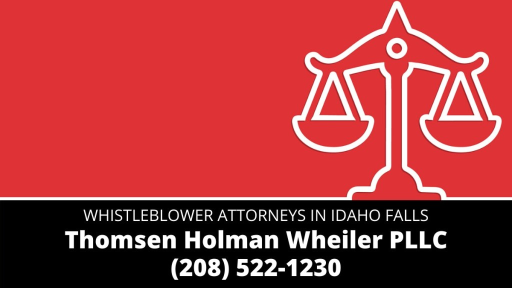 Idaho Falls whistleblower lawyers