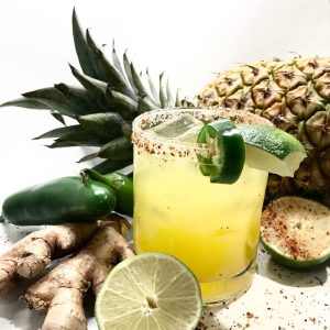 Spicy Pineapple Ginger Margarita