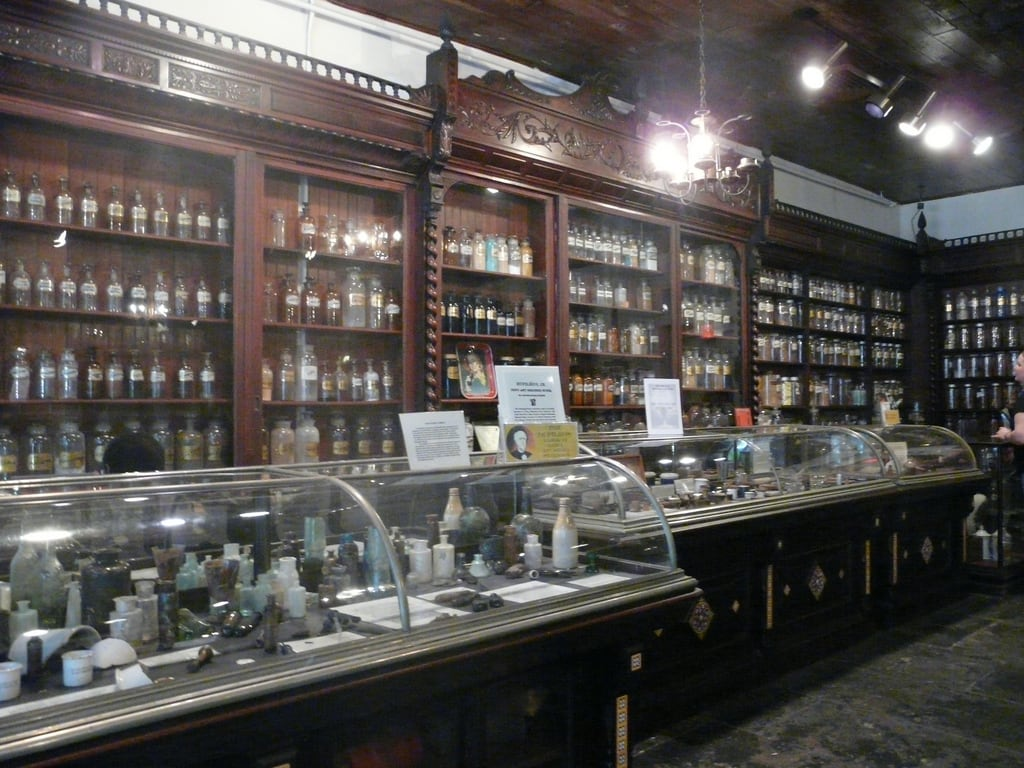 New Orleans Pharmacy Museum – an eclectic exhibit