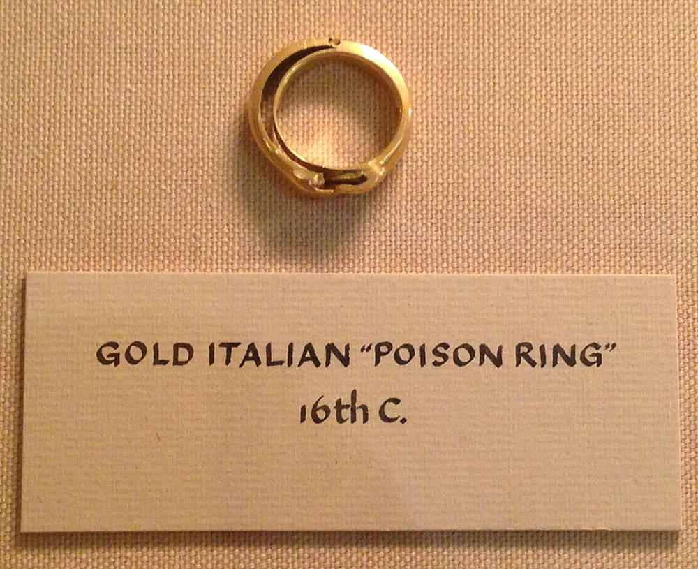Death by Gold Ring – Pretty Poisonous Potion!
