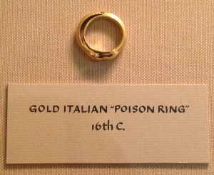 Death by Gold Ring