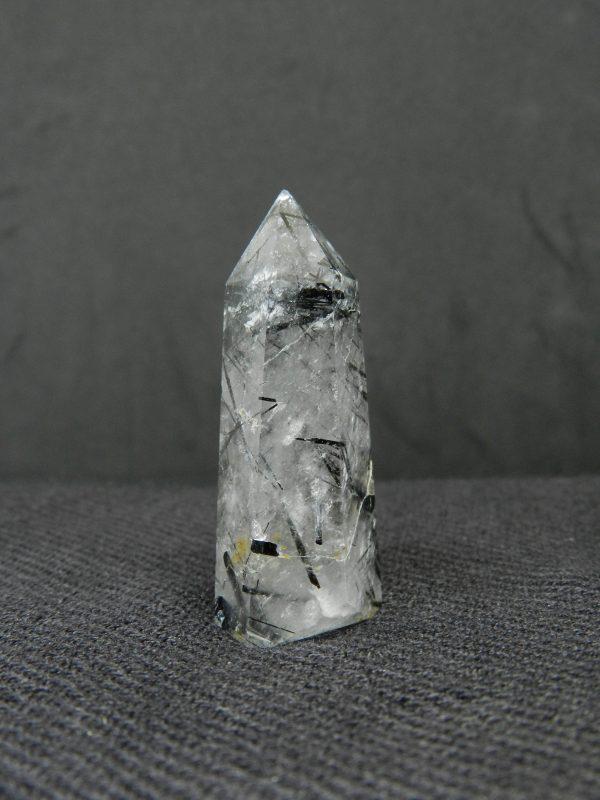 Side image of Rutilated Tourmaline Quartz