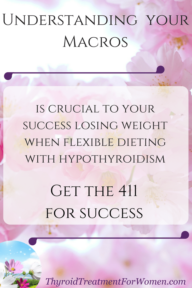 Understanding your macros is crucial to success when flexible dieting with hypothyroidism. Find your macros with these calculators.