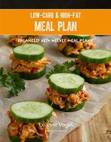 Keto Weekly Meal Plan
