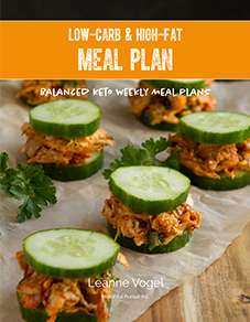 Keto Weekly Meal Plan