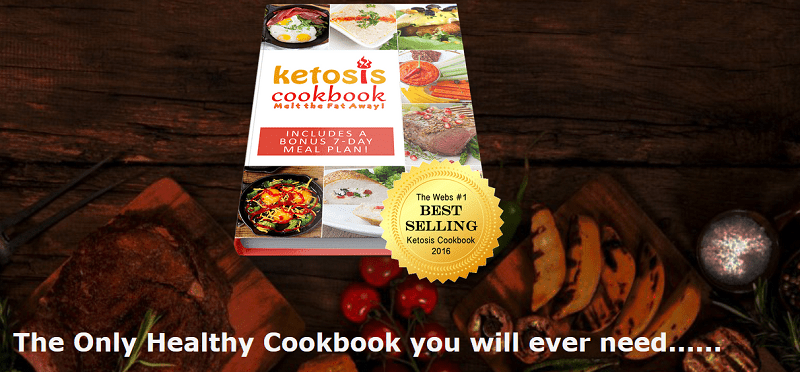 Keto cookbook - the only healthy cookbook you will need