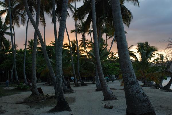 Las Galeras al tramonto
