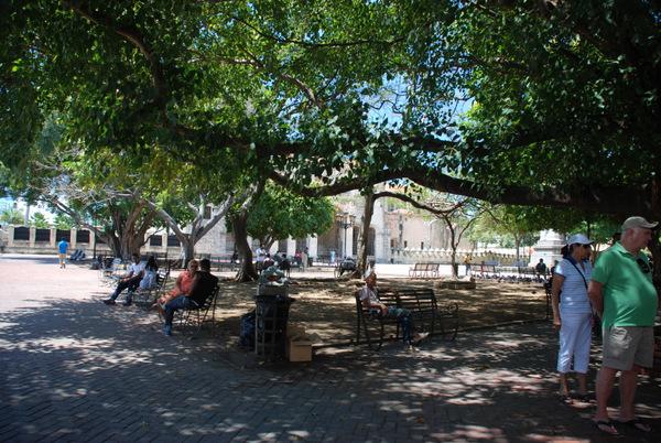 Parco favorito dai dominicani a Santo Domingo