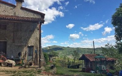 A walk on the hills of San Zeno