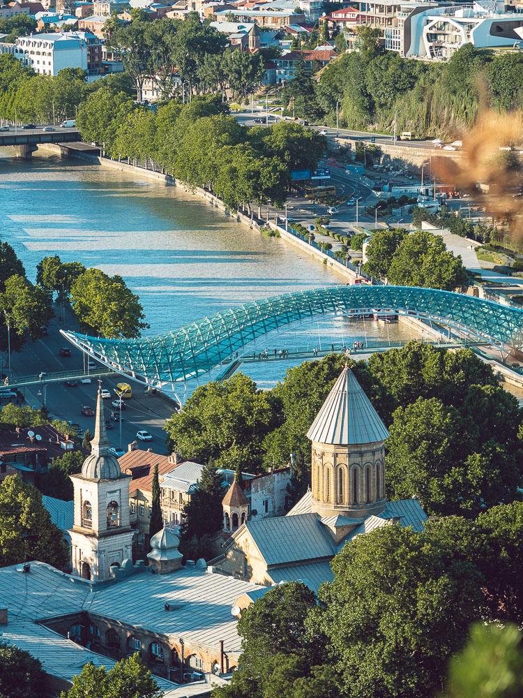 Vista del Peace Bridge