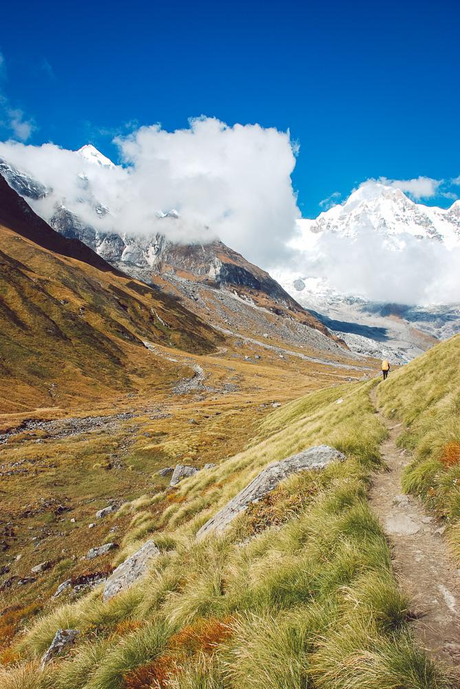 annapurna mountains nepal