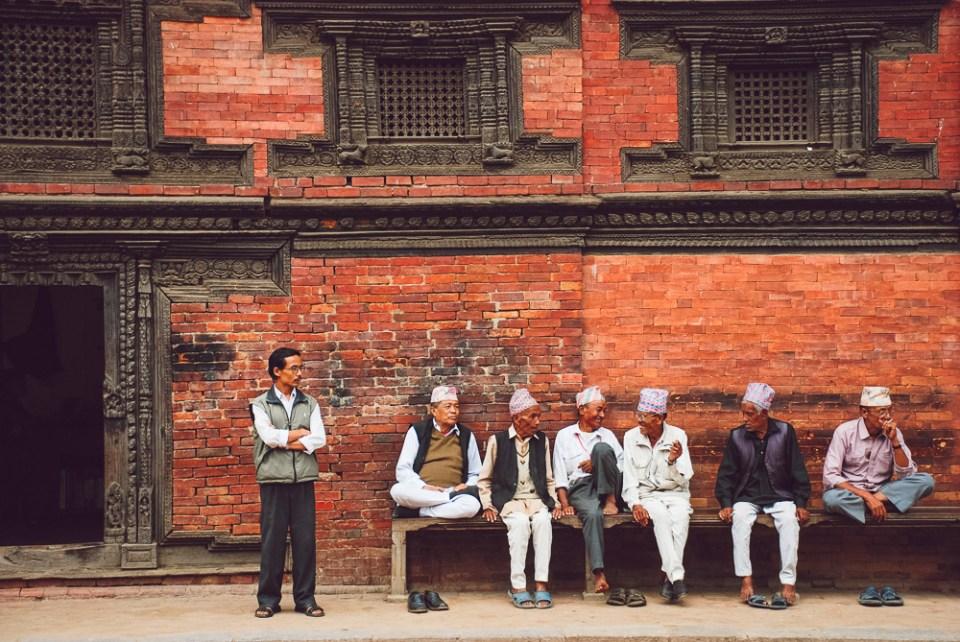Men in Patan