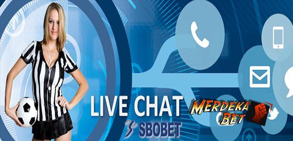 Cara Daftar Sbobet di Merdekabet melalui Live Chat - Cara Mendaftar Sbobet
