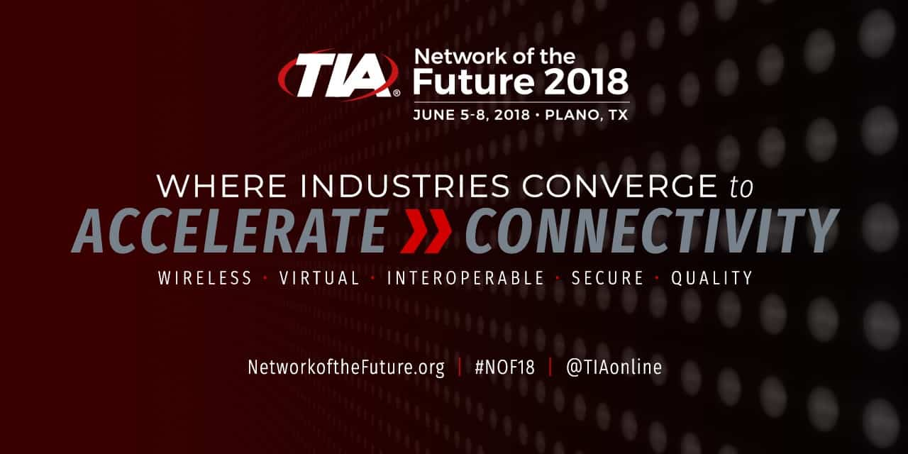 event promo for Network of the Future 2018