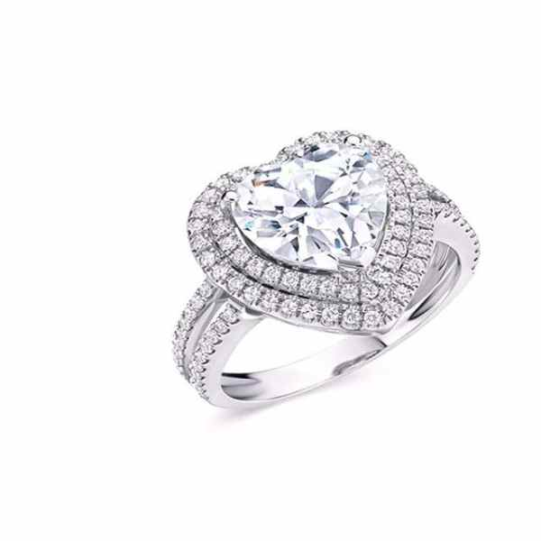 Tiaria Perhiasan cincin emas berlian White Gold 18K Diamond LAVISH LOVE (3)