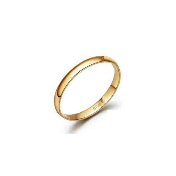 Perhiasan emas berlian white gold 18K diamond chic classic m