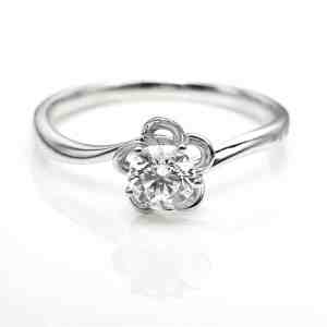 Perhiasan emas berlian white gold 18K diamond