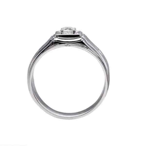 Perhiasan emas berlian white gold 18K diamond DHTXHJZ063